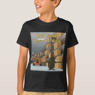 Funny Box Turtles At Work T-Shirt