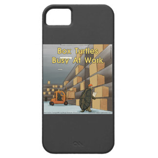 Funny Box Turtles iPhone 5 Case