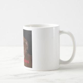 Funny Boxer Dog 'I Hate Mondays' Novelty Mug