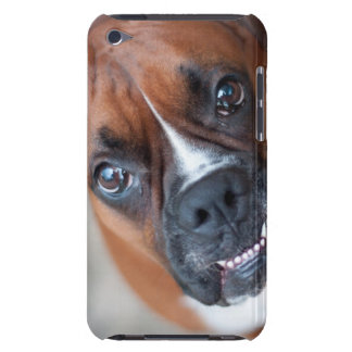 Funny boxer dog iPod touch case