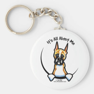 Funny Boxer Keychain