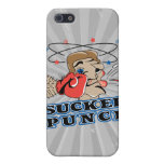 funny boxing sucker punch cartoon iPhone 5 cover