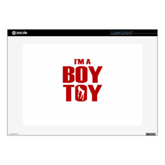 """Funny Boy Toy Decal For 15"""" Laptop"""