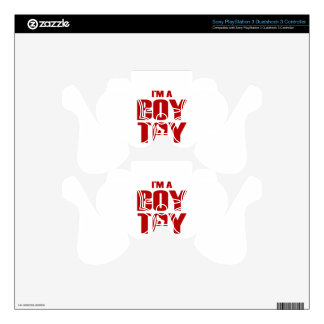 Funny Boy Toy Decal For PS3 Controller