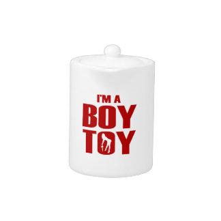 Funny Boy Toy Teapot