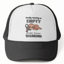 Funny Brain Tumor Awareness Gifts Trucker Hat