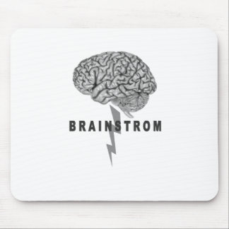 Funny Brainstorm T Shirt HGGF.png Mouse Pad