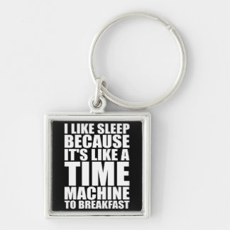 Funny Breakfast Novelty Key Chains