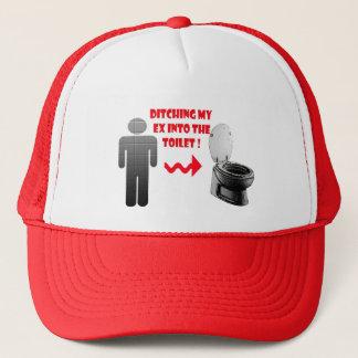 Funny breakup ex boyfriend into the toilet trucker hat