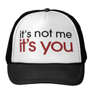 Funny breakup trucker hat