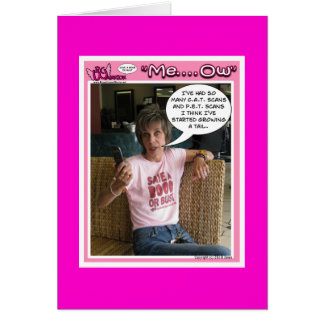 Funny Breast Cancer Card
