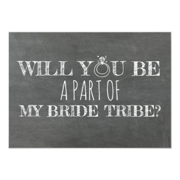 Bride Themed Funny Bridesmaid / Maid of Honor Proposal Card