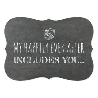 Funny Bridesmaid / Maid of Honor Proposal Invitation