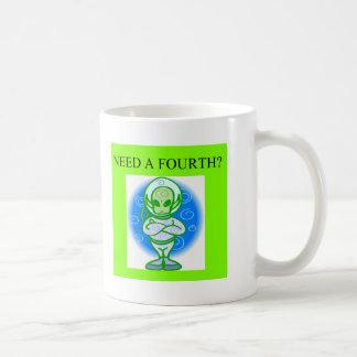 funny bridge player design classic white coffee mug