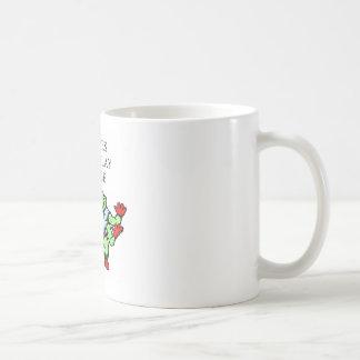 funny bridge player design coffee mug