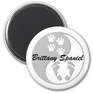 funny Brittany Spaniel Refrigerator Magnets