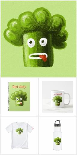Funny broccoli
