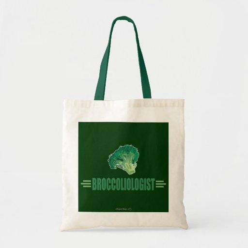 Funny Broccoli Budget Tote Bag