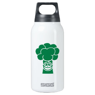 Funny broccoli face 10 oz insulated SIGG thermos water bottle