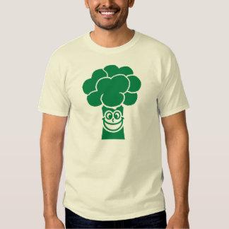 Funny broccoli face shirt