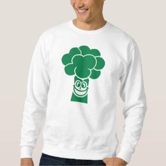 Funny broccoli face sweatshirt