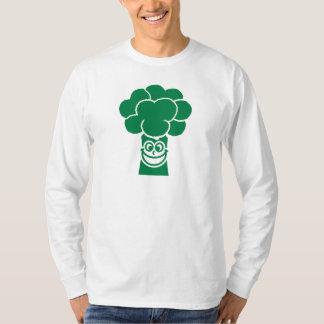 Funny broccoli face tshirts