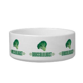 Funny Broccoli Cat Food Bowls