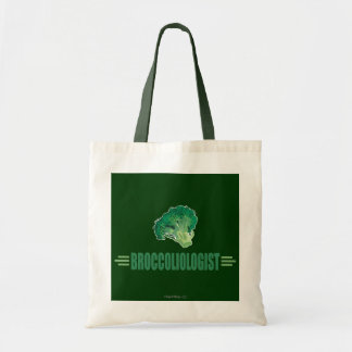 Funny Broccoli Tote Bag
