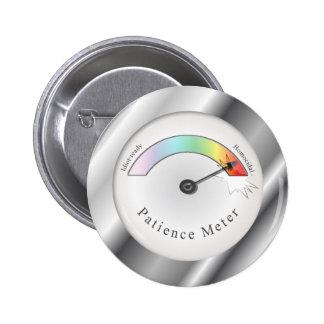 Funny Broken Patience Meter Button Flair