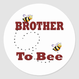 Funny Brother to Be Stickers
