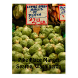 Funny Brussel Sprouts Postcard