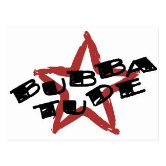 Funny Bubba Attitude Postcard