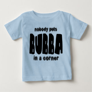 Funny Bubba in a Corner Baby T-Shirt