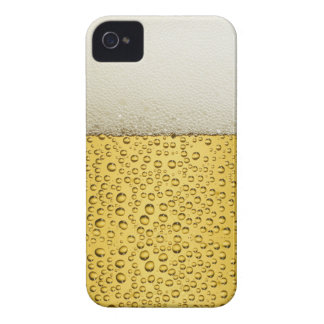 Funny Bubbles Beer Glass Gold Case-Mate iPhone 4 Cases