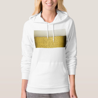 Funny Bubbles Beer Glass Gold Hoodie