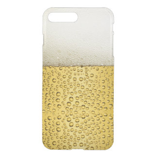 Funny Bubbles Beer Glass Gold iPhone 7 Plus Case