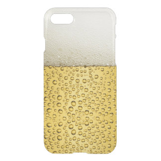 Funny Bubbles Beer Glass Gold iPhone 8/7 Case