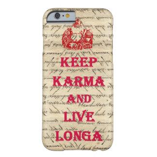 Funny Buddha saying Barely There iPhone 6 Case