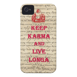 Funny Buddha saying Case-Mate iPhone 4 Cases
