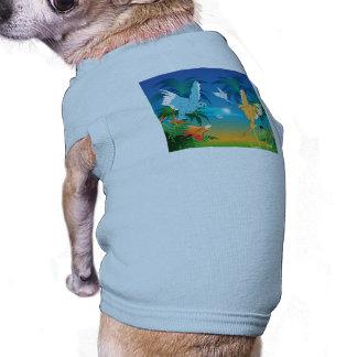 Funny budgies dog t-shirt