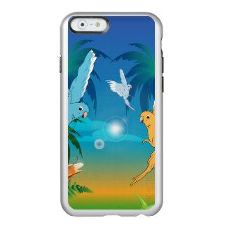 Funny budgies incipio feather® shine iPhone 6 case