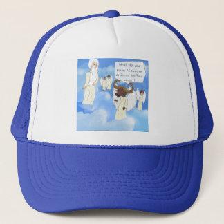 Funny Buffalo Wings In Heaven Gift Trucker Hat
