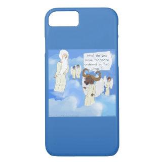 Funny Buffalo Wings In Heaven iPhone 7 Case