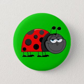 Funny Bug Eyes Button