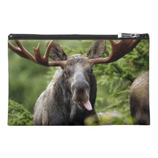 Funny Bull Moose Travel Accessories Bag