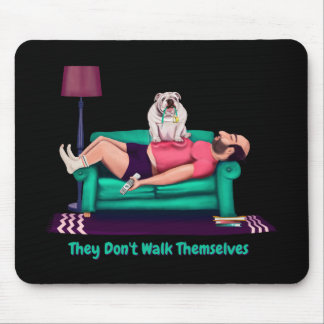 Funny Bulldog Mouse Pad | Gifts for Dog Lovers