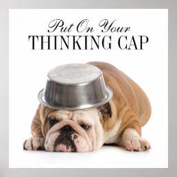 Funny Bulldog - Poster - srf