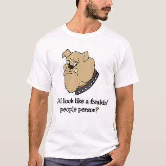 Funny bulldog t-shirt