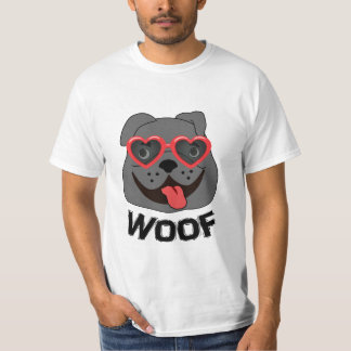 Funny Bulldog T Shirt for Men