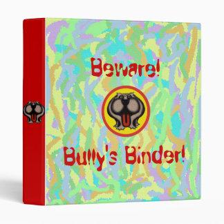 Funny bully bulldog binder design